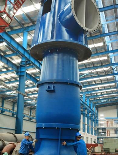 立式斜流泵工作原理及结构图-斜流泵生产厂家