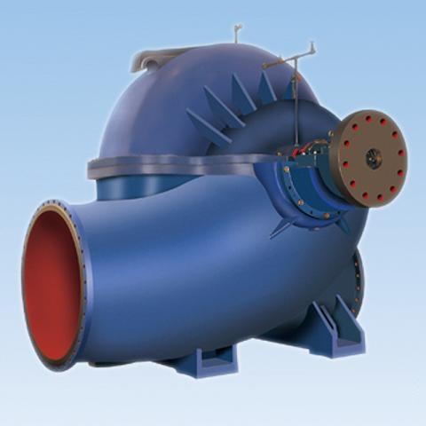 SAP型单级双吸中开泵